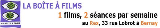La boite à films – Ciné-club de Bernay